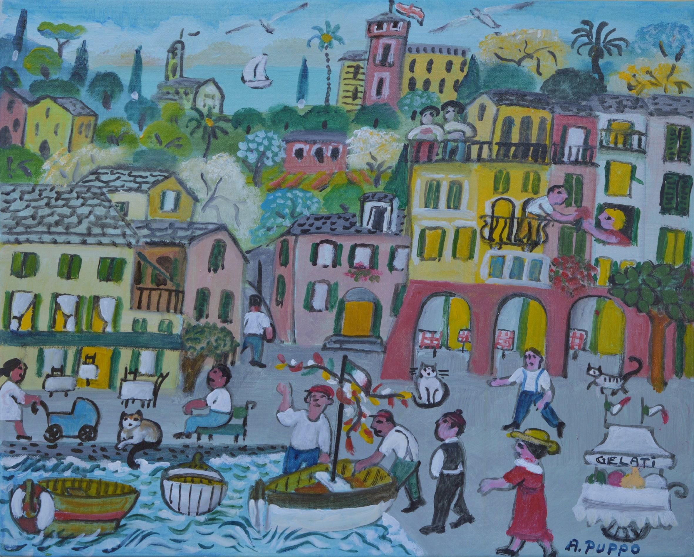 Alessandra Portofino Boats and IceCream