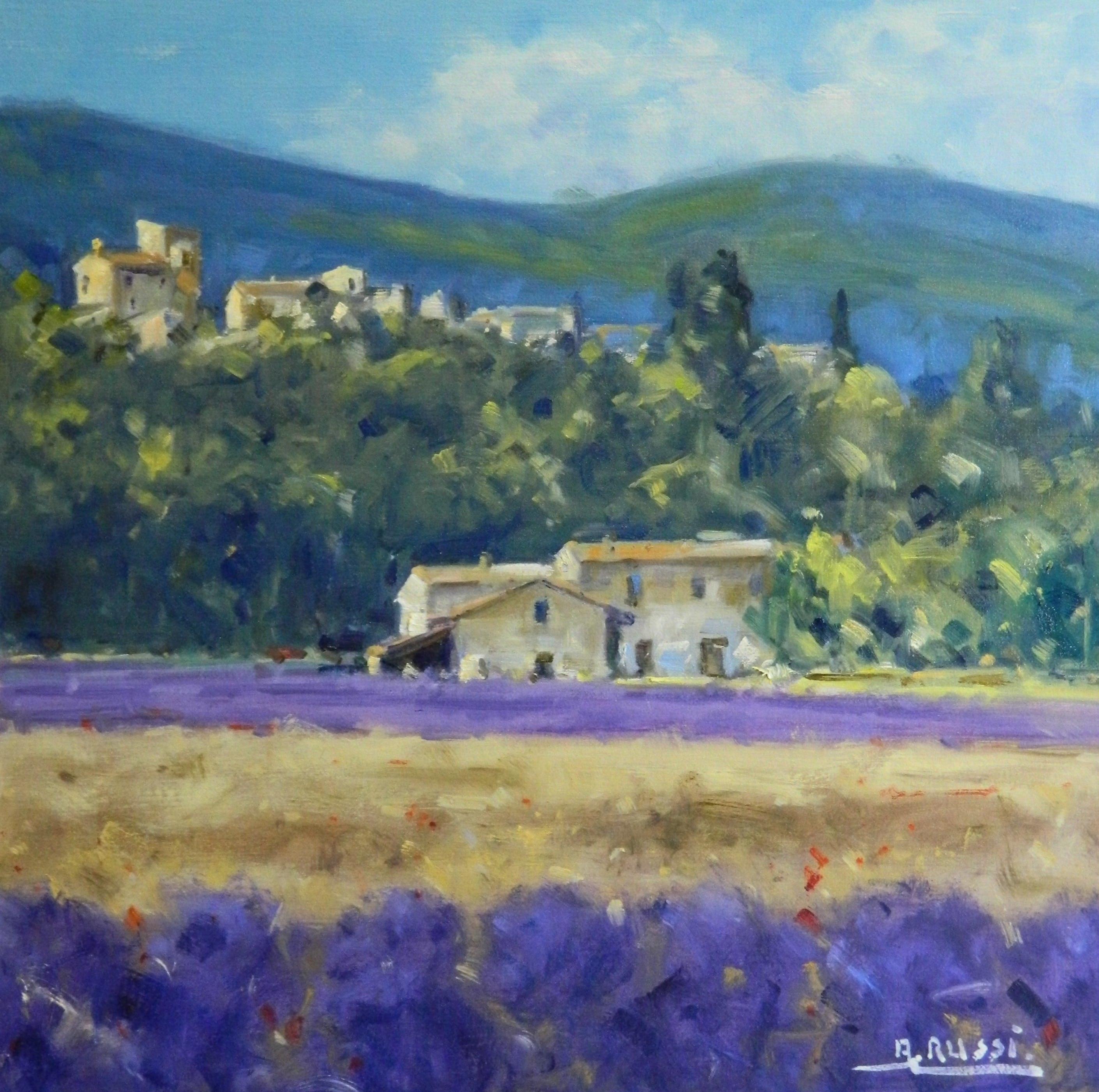 Antonio Lavanda fields 50x50