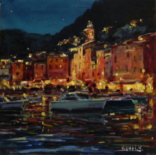 AntonioNight In Portofino 50x50