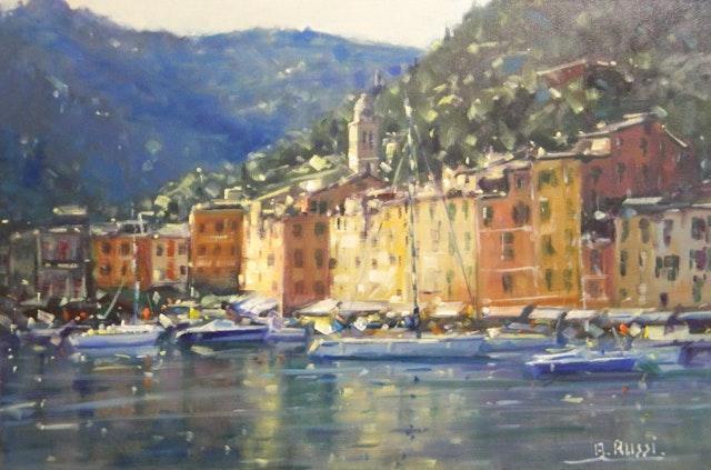 Antonio Reflections of Portofino 60x40