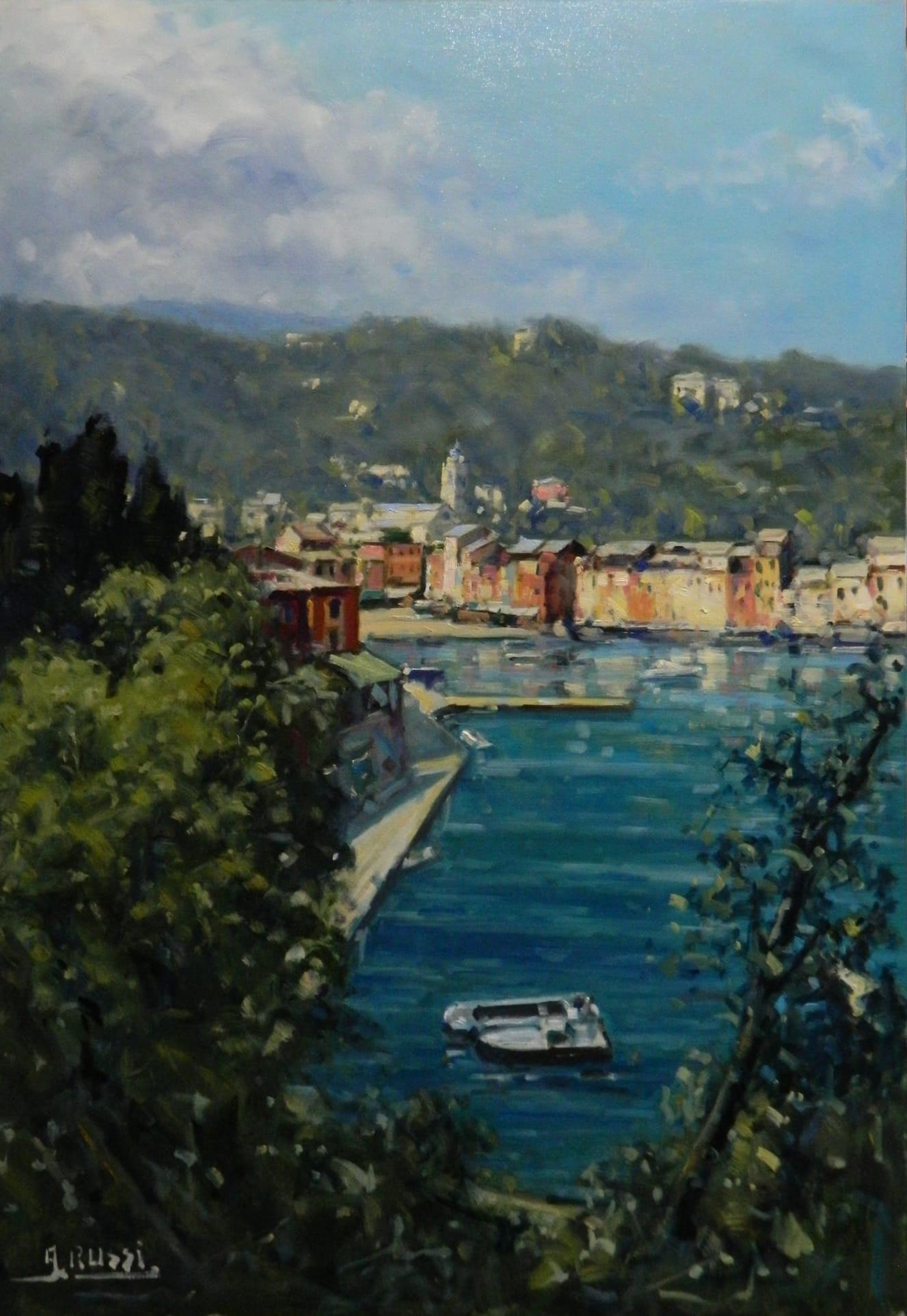 Antonio Splendor in Portofino 70x100