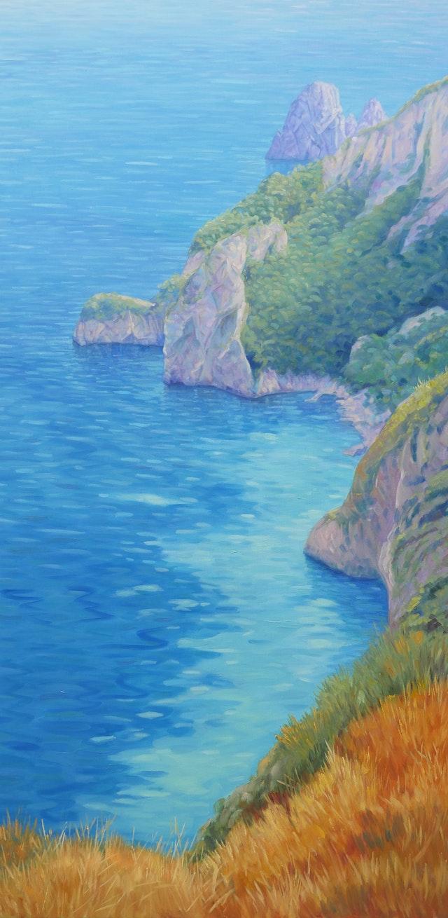 Claudio Dreaming of Capri 60x120