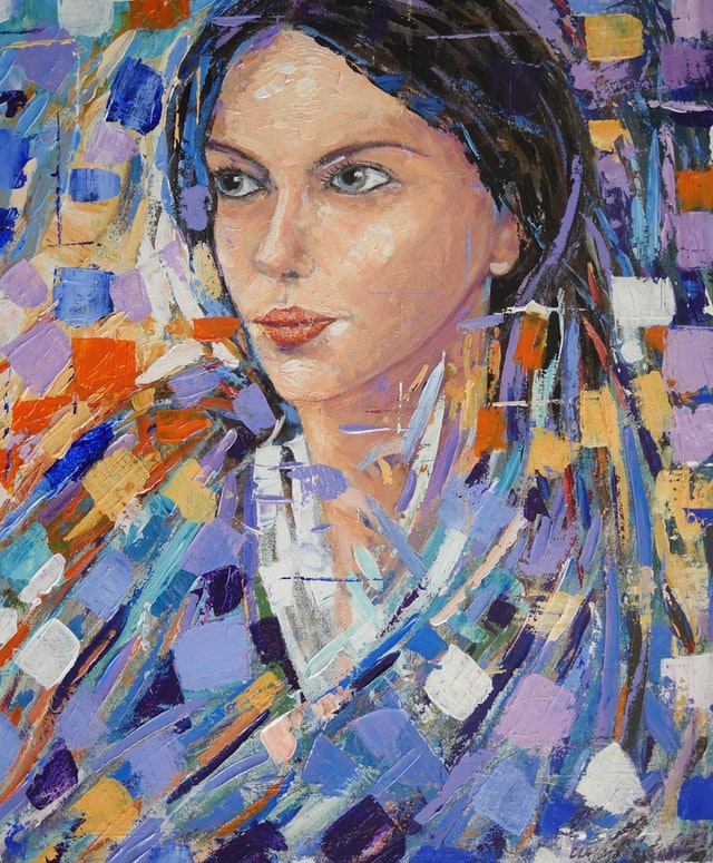 Claudio Mosaic Figure 50x60
