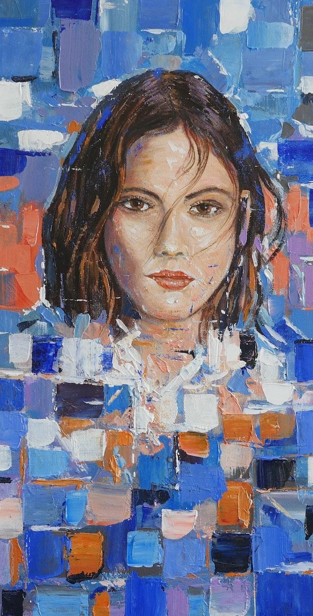 Claudio Mosaic Figure 20x40
