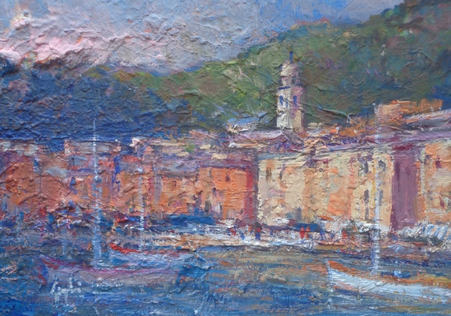 Gigli From The Sea 40x30