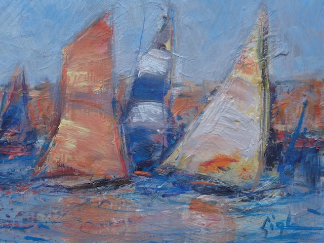 Gigli Sails in the Morning 30x24