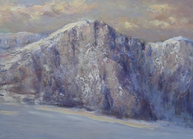 Gigli Snowly Mountains 80x60