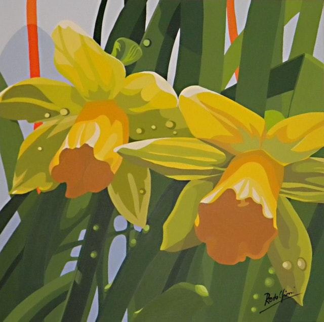 Mariangela Narcissus 40x40