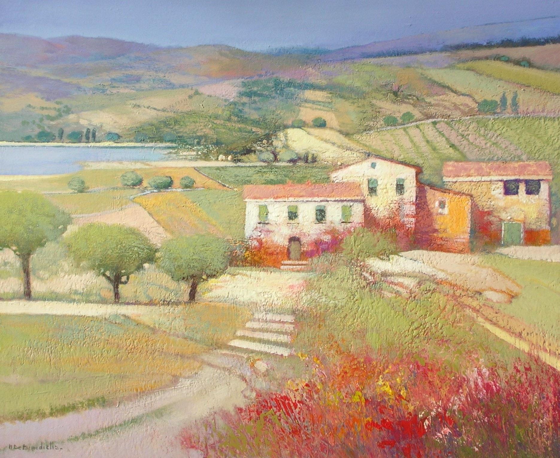 Nicola Piccolo Borgo 60x50