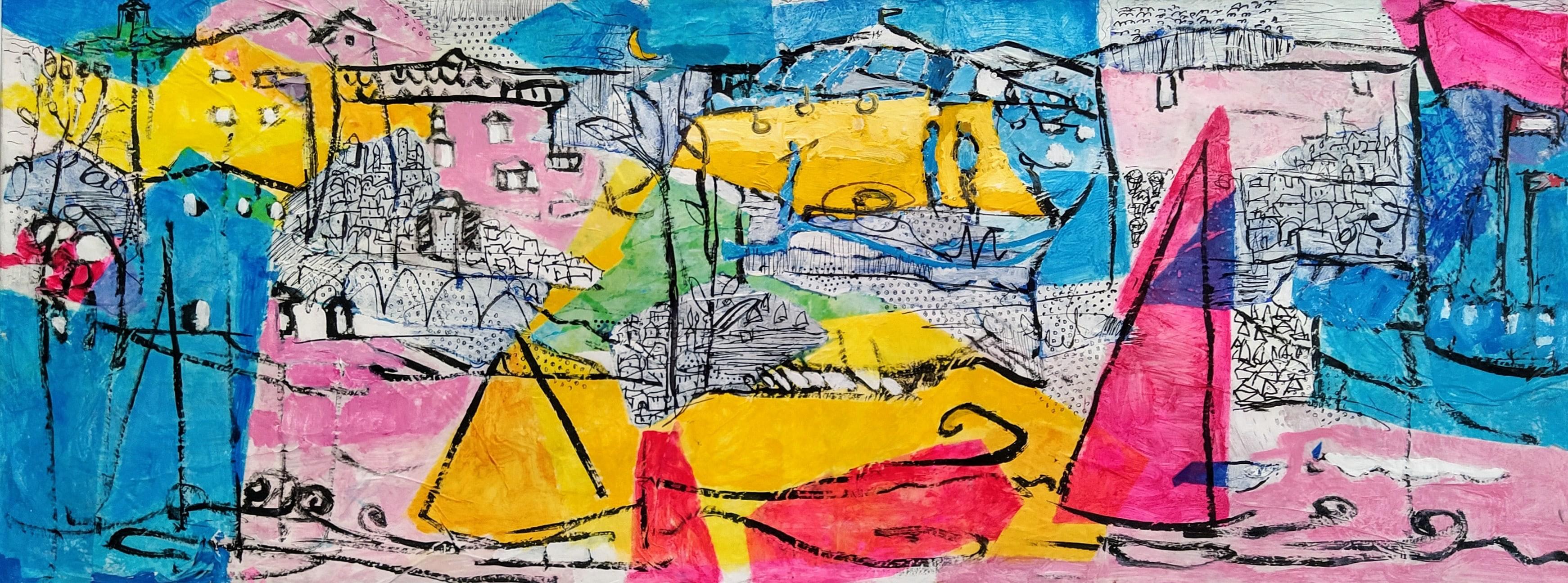 Pietro Dreamlike Non-sense and consequent landscape 130x50