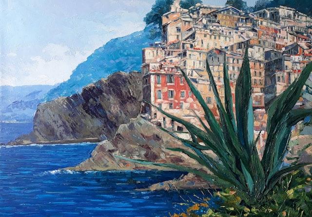 Susanna Riomaggiore 100x70