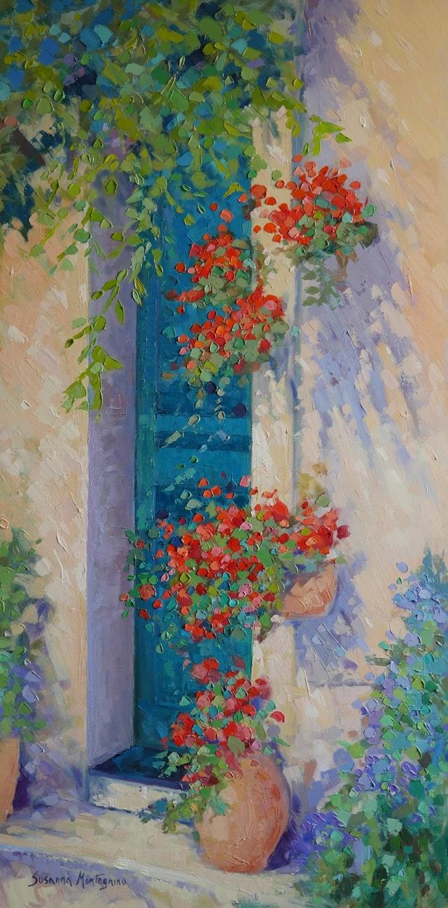 Susanna Summer afternoon 50x80