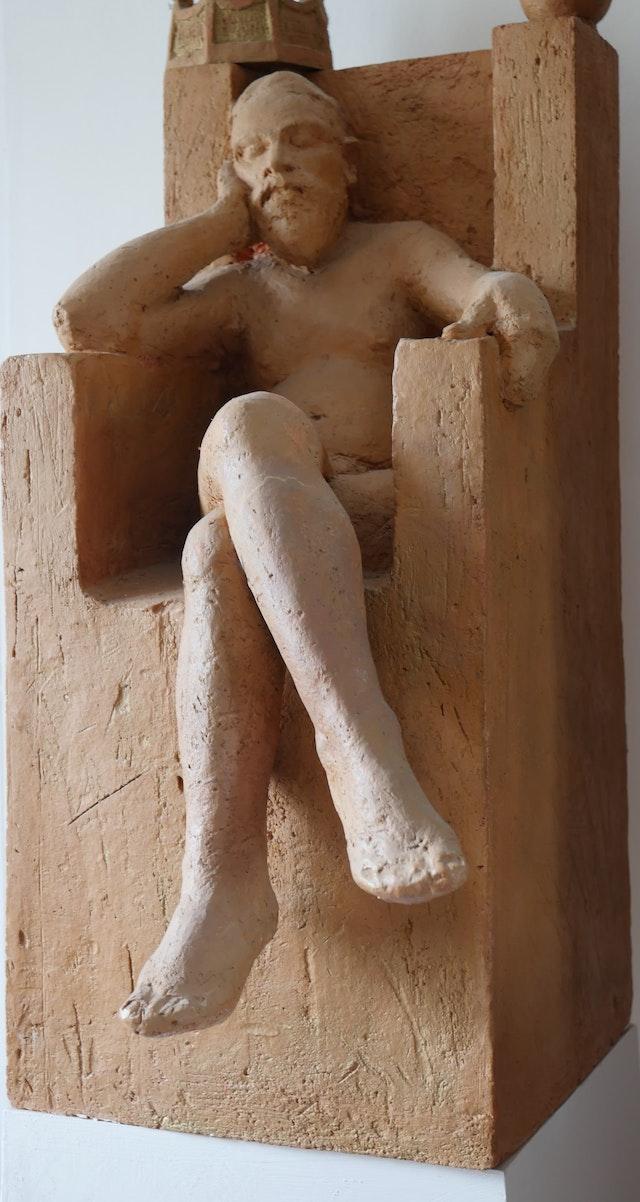 Susanna The naked king 35x73x45