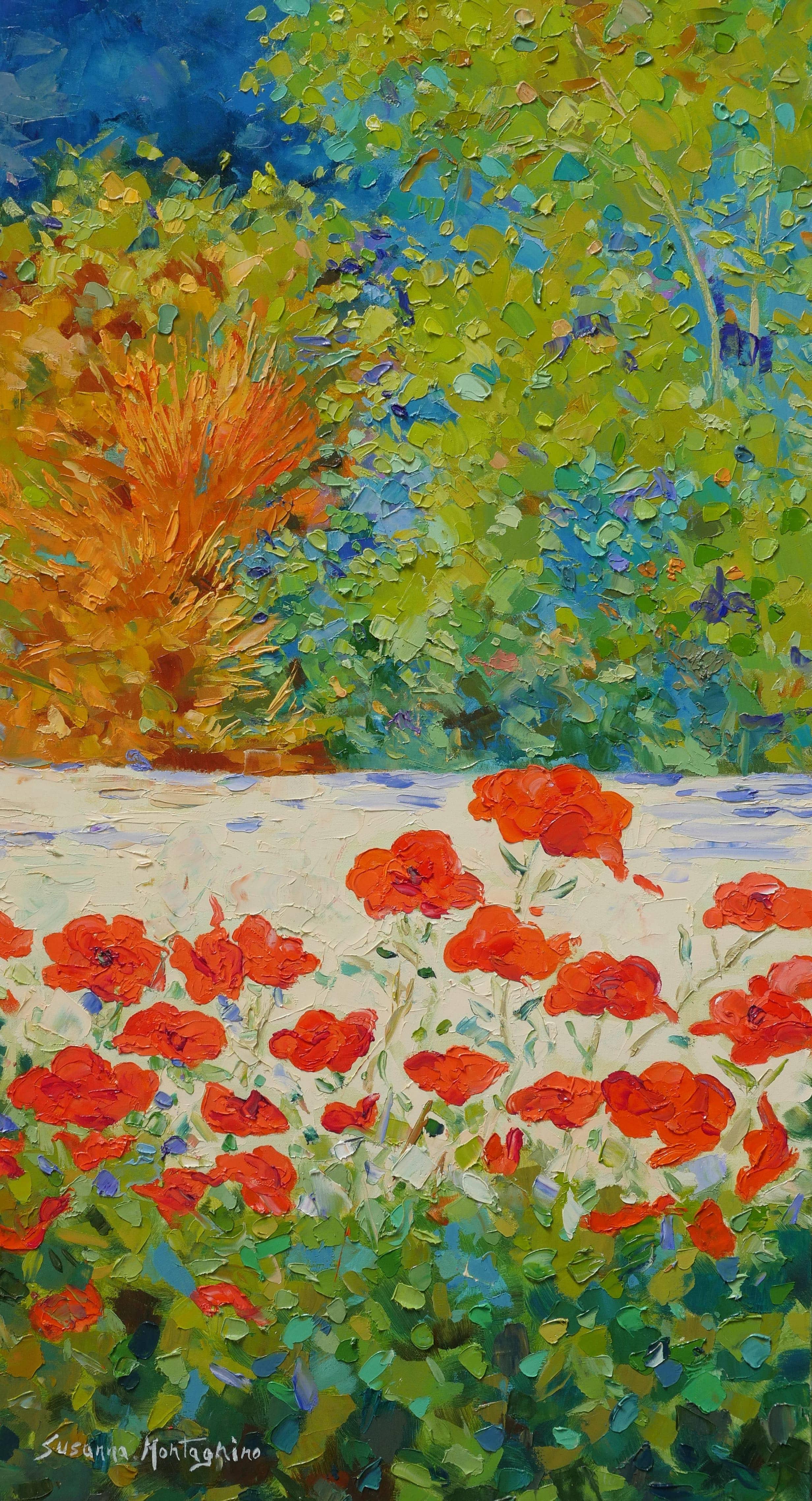 Susanna Landscape 40x80
