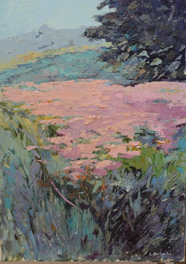 Susanna Flowering in Summer 50x70